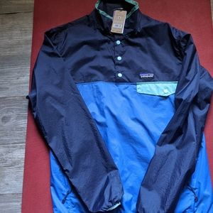 Men's Patagonia Houdini Snap T Pullover (New)
